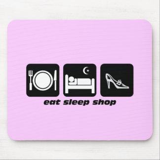 compras divertidas mousepad