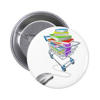 Compras en línea del libro de la educación o del pin