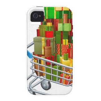 Compras en línea del regalo del navidad iPhone 4/4S fundas