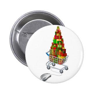 Compras en línea del regalo del navidad pin