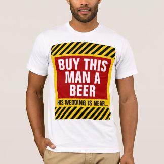 Compre a este hombre una despedida de soltero de playera