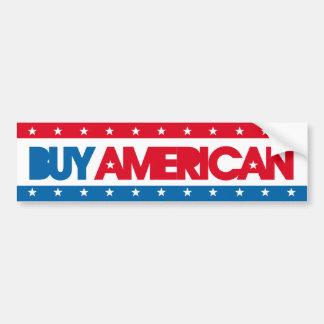Compre a la pegatina para el parachoques americana pegatina de parachoque