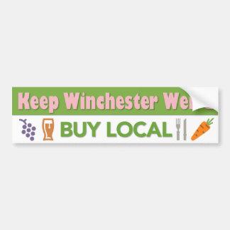 Compre a la pegatina para el parachoques local pegatina para auto