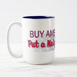 compre al americano 3 taza de dos tonos