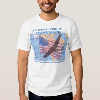 ¡COMPRE AL AMERICANO! CAMISETA CAMISAS