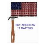 Compre al americano.  Importa Tarjeta Postal