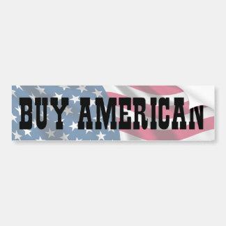 Compre al americano pegatina para auto