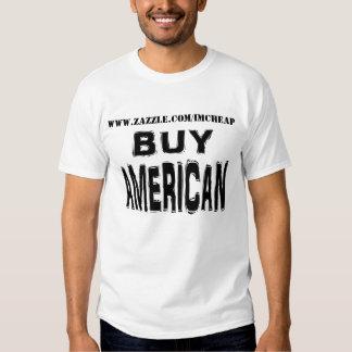 Compre al americano, promueva su almacén en línea camisas