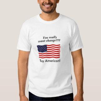 ¡Compre al americano! Remeras