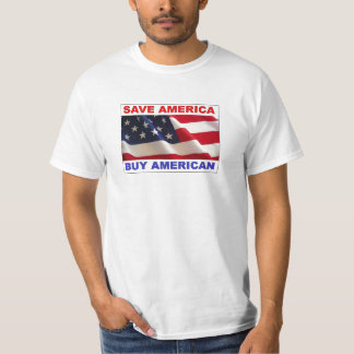 Compre al americano, reserva América Remera
