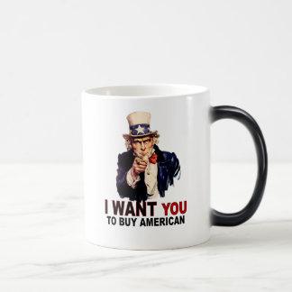 Compre al americano taza mágica