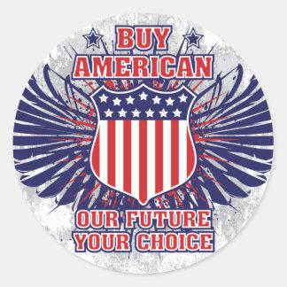 Compre al pegatina americano