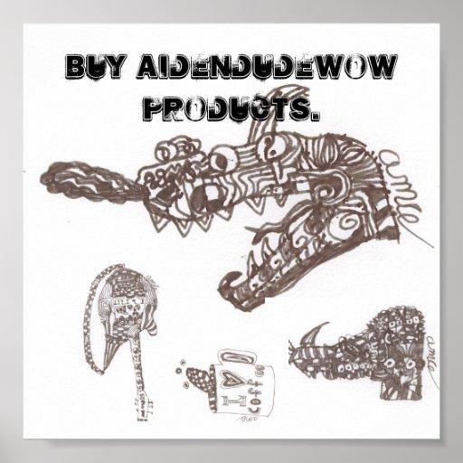 compre el aidendudewow póster
