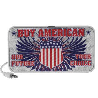 Compre el altavoz de USB del americano