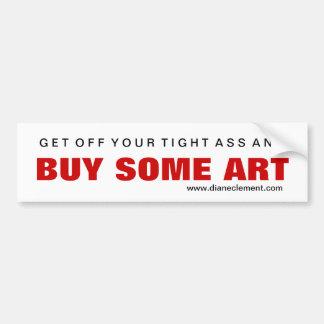 Compre el arte #1 pegatina para auto