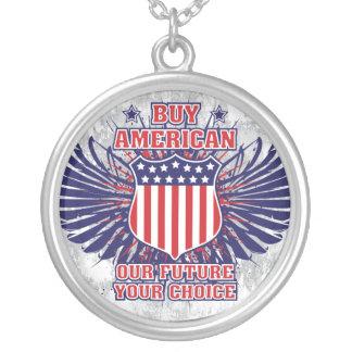 Compre el collar americano
