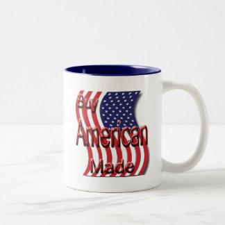 Compre el rojo hecho americano taza dos tonos