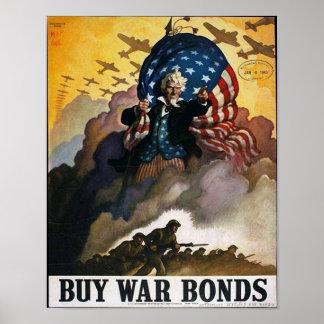 ¡Compre enlaces de guerra! Póster