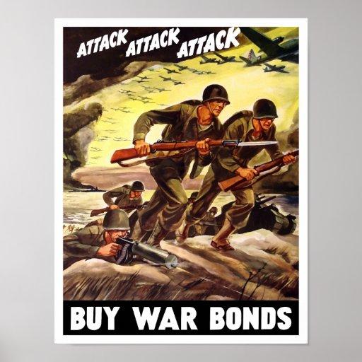 Compre enlaces de guerra -- Propaganda WW2 Posters