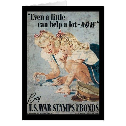 Compre enlaces de los sellos de la guerra de los E Tarjeta De Felicitación