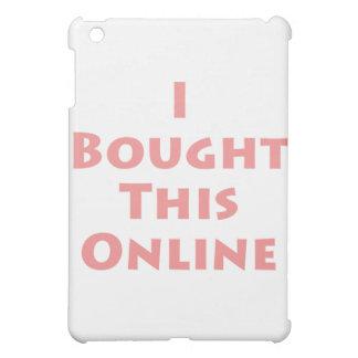 ¡Compré este en línea