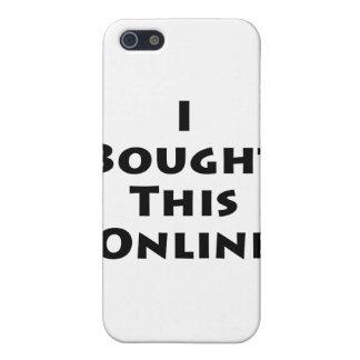 Compré este en línea iPhone 5 cárcasa