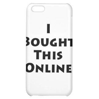 Compré este en línea