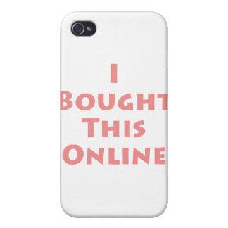 ¡Compré este en línea! iPhone 4 Carcasas