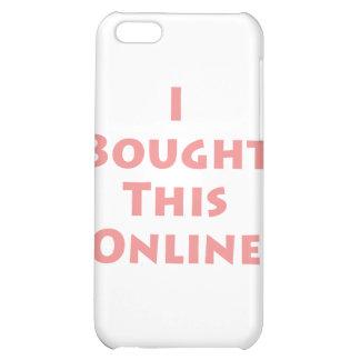 ¡Compré este en línea!