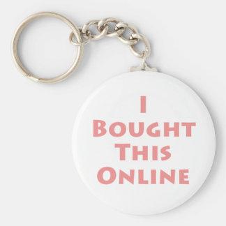 ¡Compré este en línea! Llavero Redondo Tipo Pin