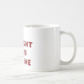 Compré este en línea taza