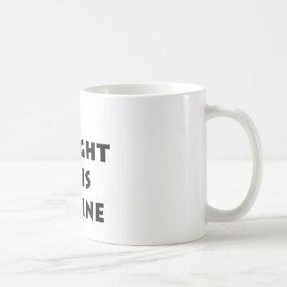 Compré este en línea taza clásica