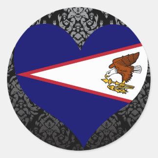 Compre la bandera de American Samoa Pegatina