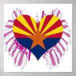 Compre la bandera de Arizona Posters