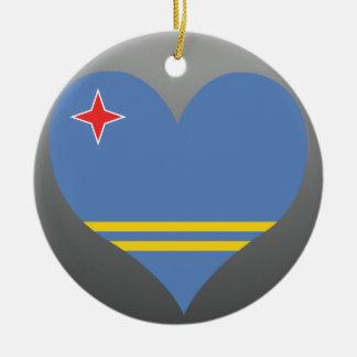 Compre la bandera de Aruba Ornamentos De Navidad