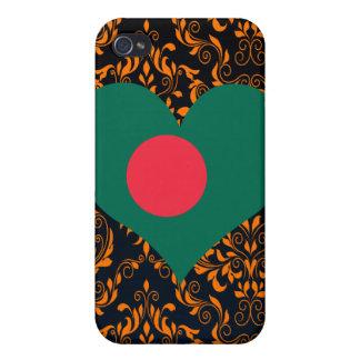 Compre la bandera de Bangladesh iPhone 4 Carcasas