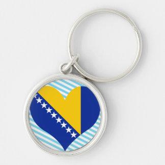 Compre la bandera de Bosnia y Herzegovina Llaveros Personalizados