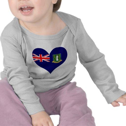 Compre la bandera de British Virgin Islands Camiseta