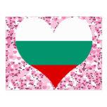 Compre la bandera de Bulgaria Postales