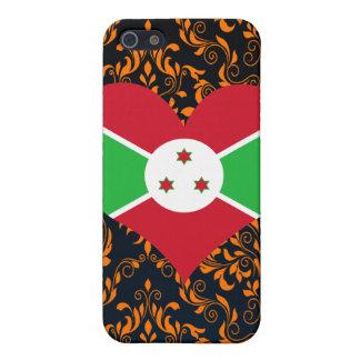 Compre la bandera de Burundi iPhone 5 Cobertura