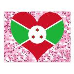 Compre la bandera de Burundi Postales