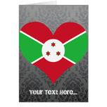 Compre la bandera de Burundi Tarjeta