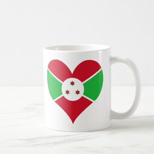 Compre la bandera de Burundi Taza De Café