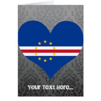 Compre la bandera de Cabo Verde Tarjeta De Felicitación