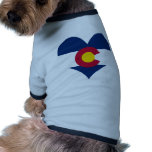 Compre la bandera de Colorado Camisa De Perrito