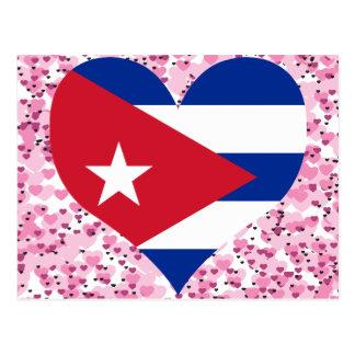 Compre la bandera de Cuba Postal