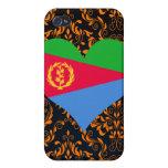 Compre la bandera de Eritrea iPhone 4 Cárcasas