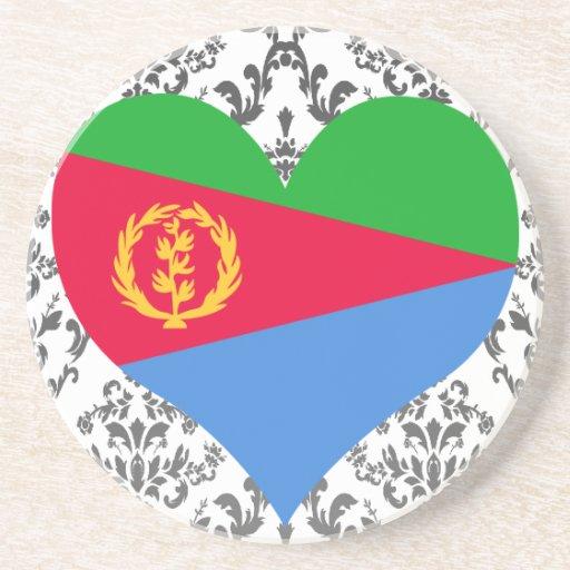 Compre la bandera de Eritrea Posavasos Para Bebidas