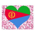 Compre la bandera de Eritrea Postales
