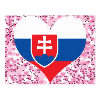 Compre la bandera de Eslovaquia Postal